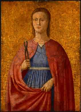 Piero della Francesca zugeschrieben, um 1455/1460, in der National Gallery of Art in Washington