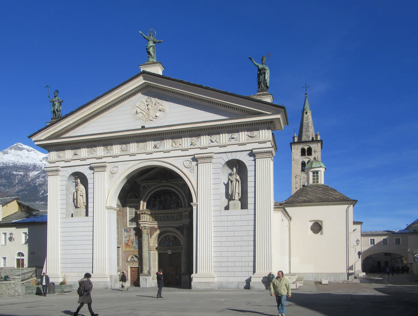 Kathedrale in Aosta