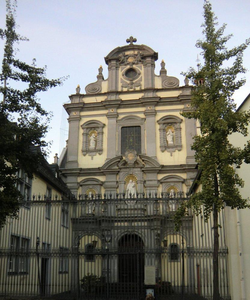 Karmelitinnenkloster, Kirche St. Maria vom Frieden in Köln, erbaut 1643 bis 1716