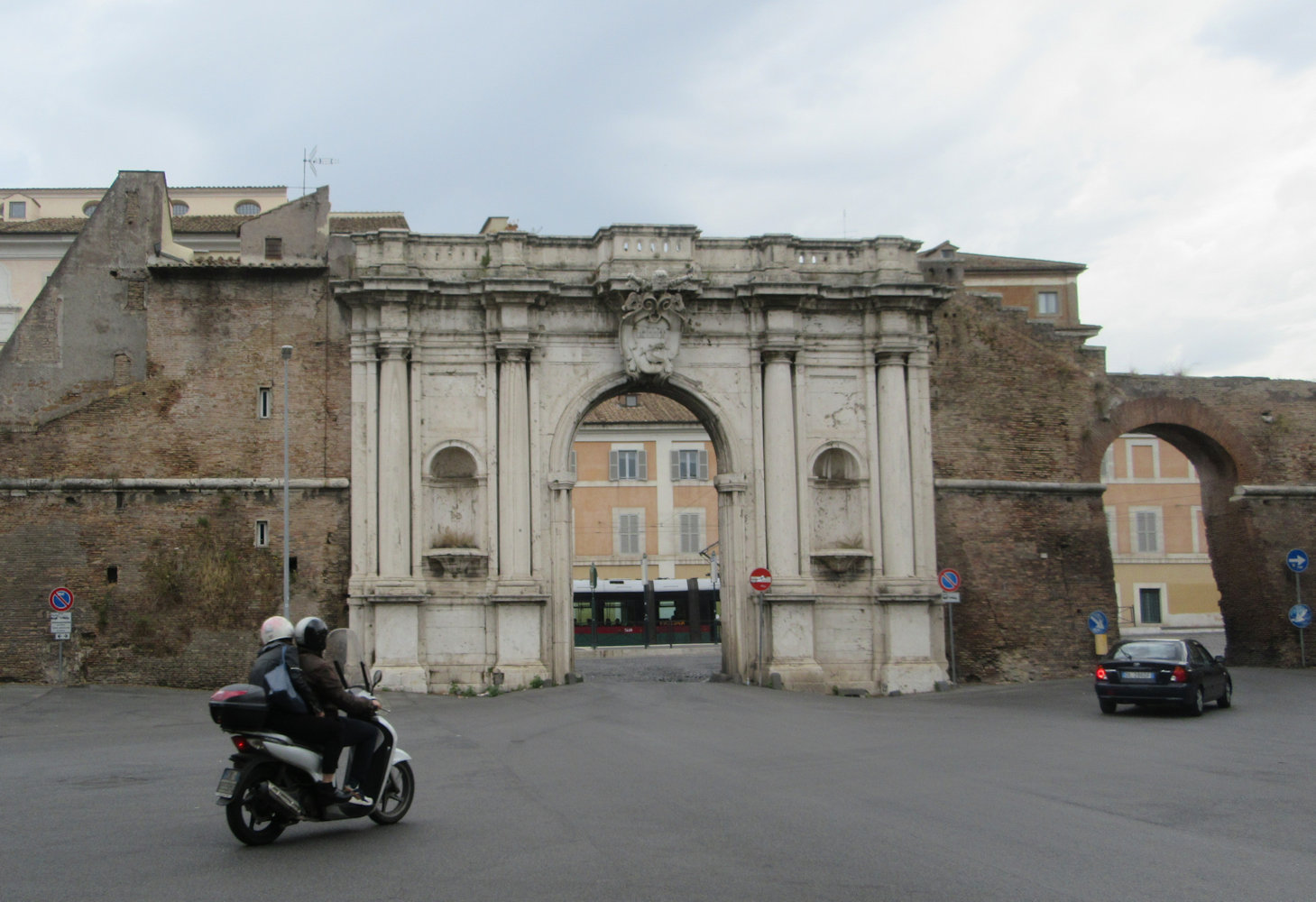 Porta Portuensis in Rom