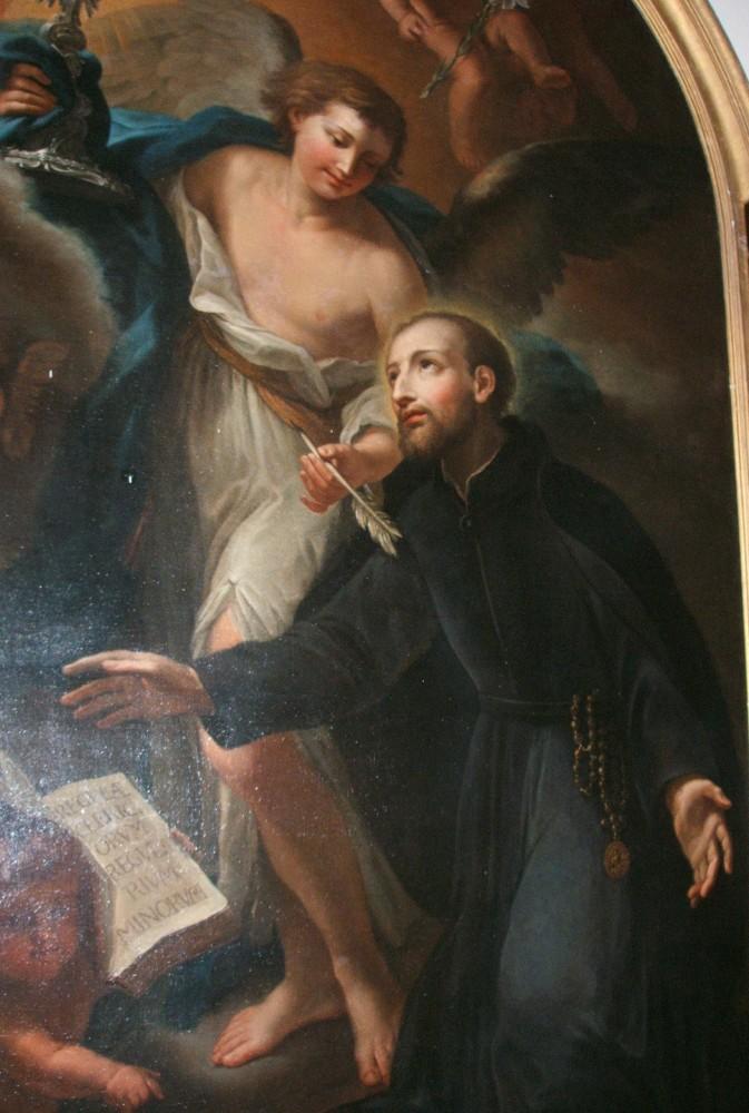Gemälde, 19. Jahrhundert (?), im Kloster Casamari