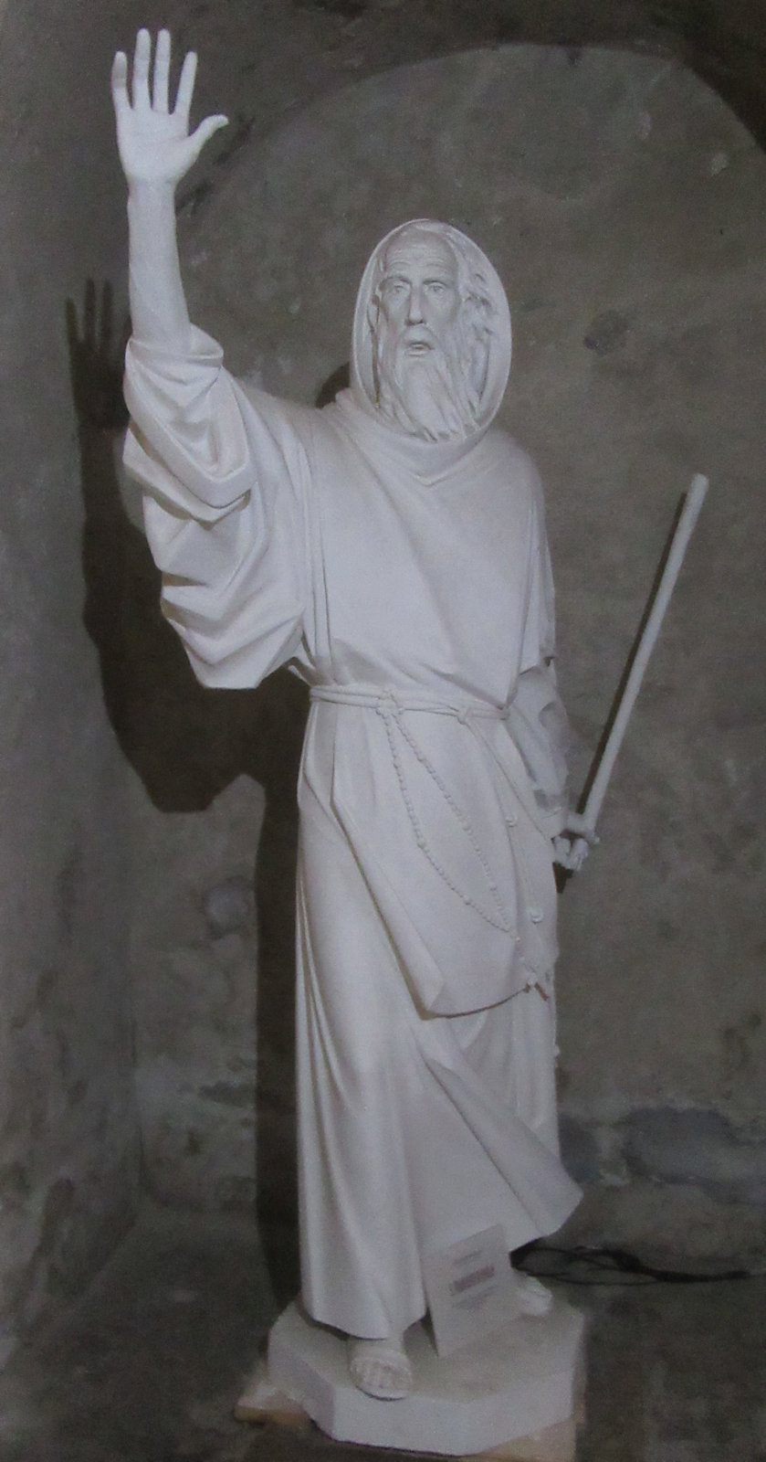 Statue im Museum der Kathedrale in Gerace