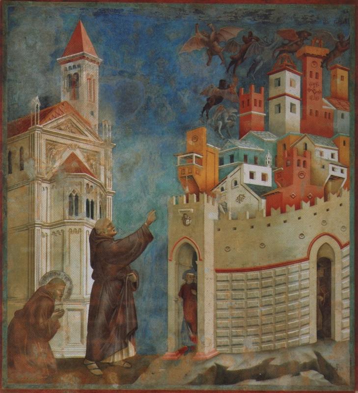 Haus Der Dämonen: Giotto Di Bondone: 28 Szenen Aus Dem Leben Von Franziskus