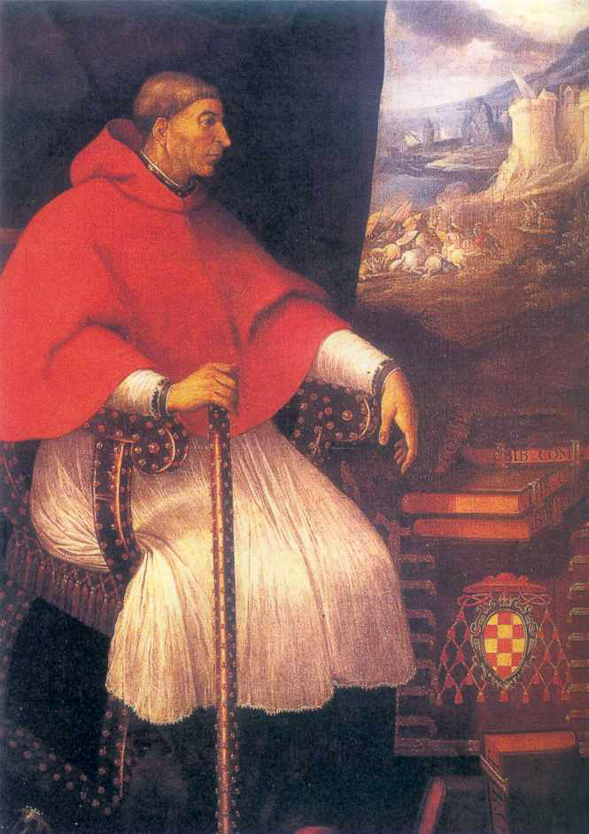 Eugenio Cajés: Gemälde, 1604, in der Universität in Madrid