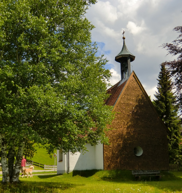 Georgskapelle in Pfronten-Kreuzegg