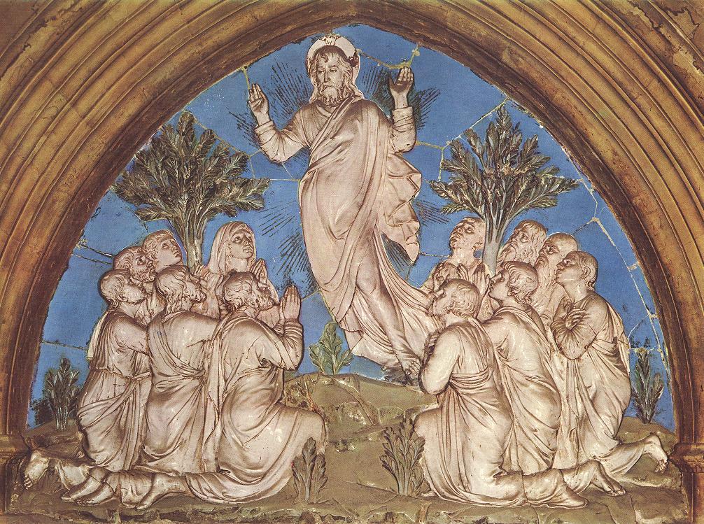 Luca della Robbia: Terracotta, 1446, im Dom in Florenz