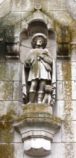 sveti Honorat iz Buzancaisa - laik in trgovec