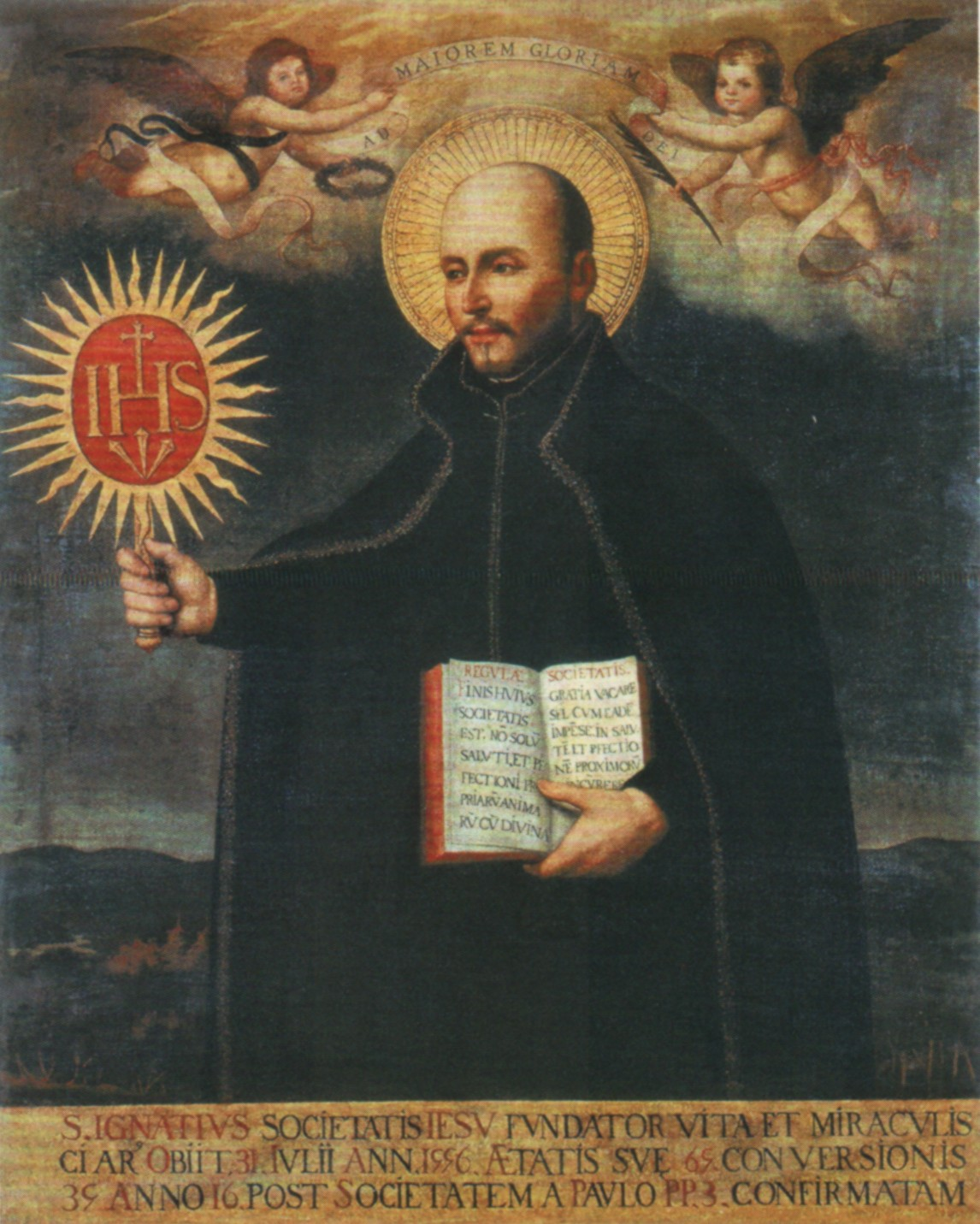 ignatius loyola St ignatius loyola 1491-1556 founder of the society of jesus it was in early june 1521 that soldiers carried the wounded iñigo de loyola to his ancestral home to recuperate from wounds.