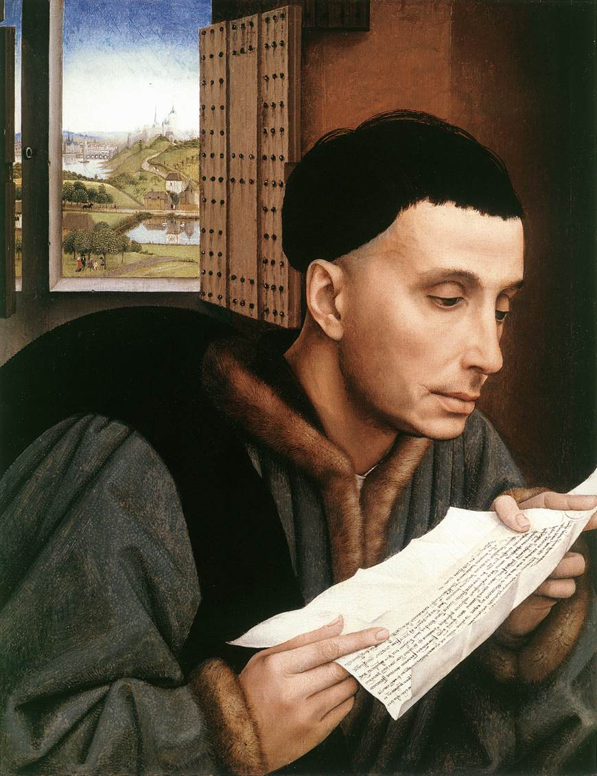 Rogier van der Weyden: Ivo, um 1450, in der National Gallery in London