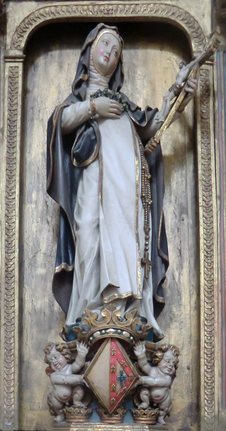Statue in der Kathedrale in Aveiro