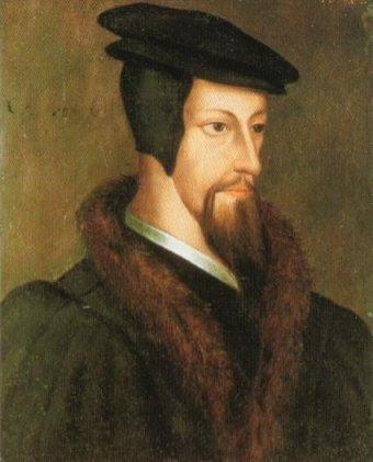 Johannes Calvin, Gemälde aus der flämischen Schule