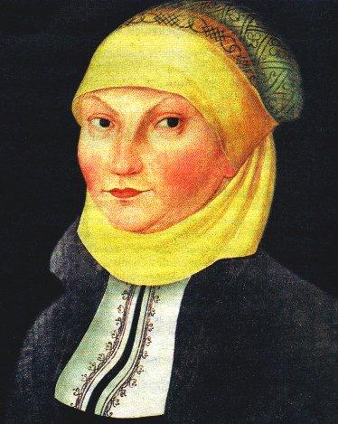 Bild von Lucas Cranach dem älteren, 1528, in der Lutherhalle in Wittenberg