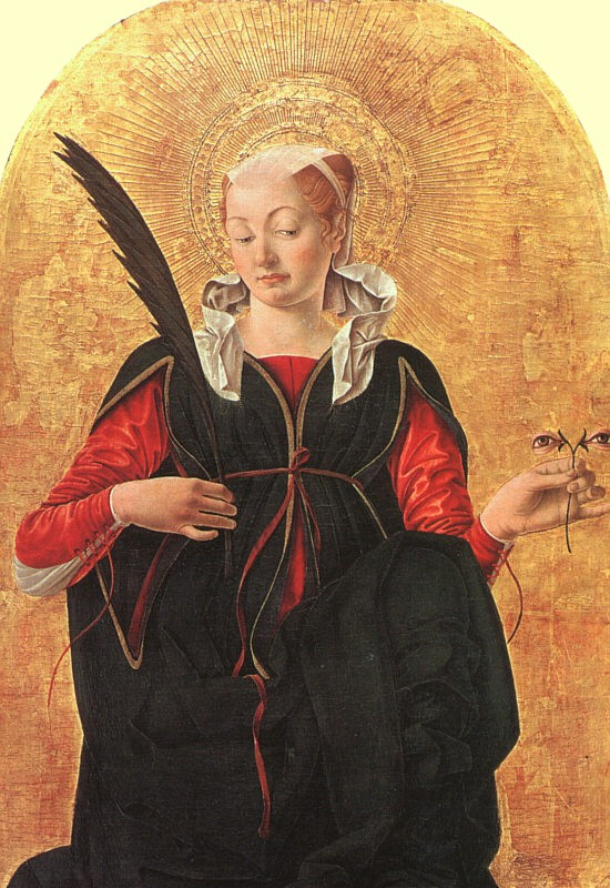 Francesco del Cossa: Lucia, 1435-1477, National Gallery of Art in Washington