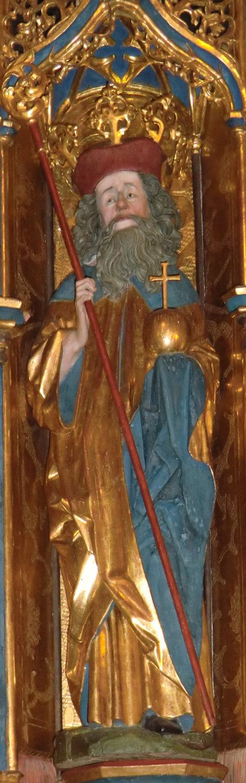 katholischer Heiliger des Mutes