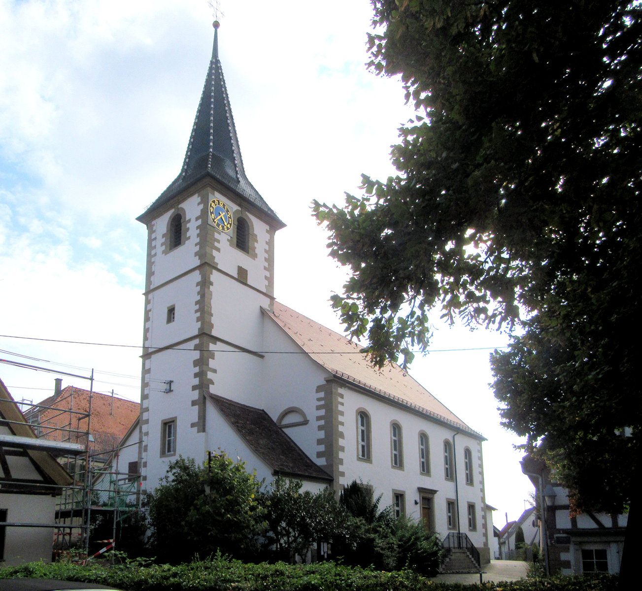 Evang. Kirche in Rielingshausen