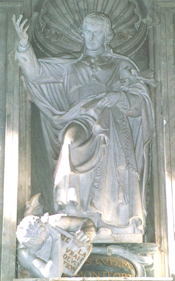 G. Parisini: Statue im Petersdom in Rom