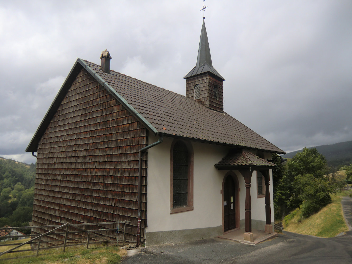 Dorfkirche in Bellefosse