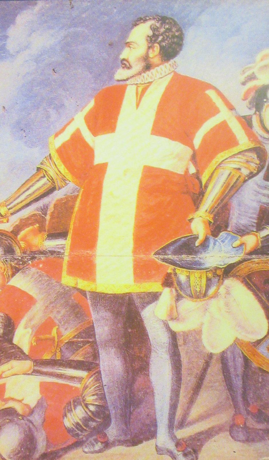 Jean de la Vallette-Parisot. Großmeister des Ordens von 1557 bis 1568, Begründer der Stadt Valetta