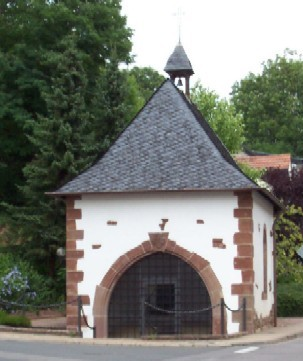 Marzelluskapelle in Beckingen