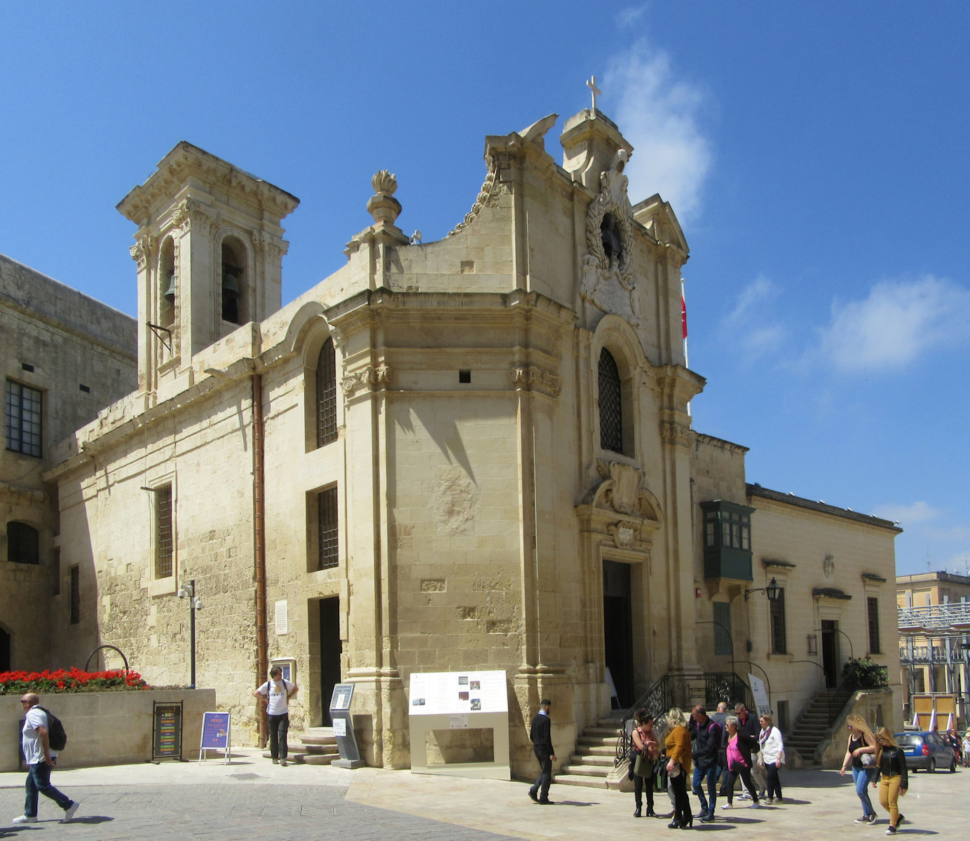 Kirche Our Lady of Victories in Valletta