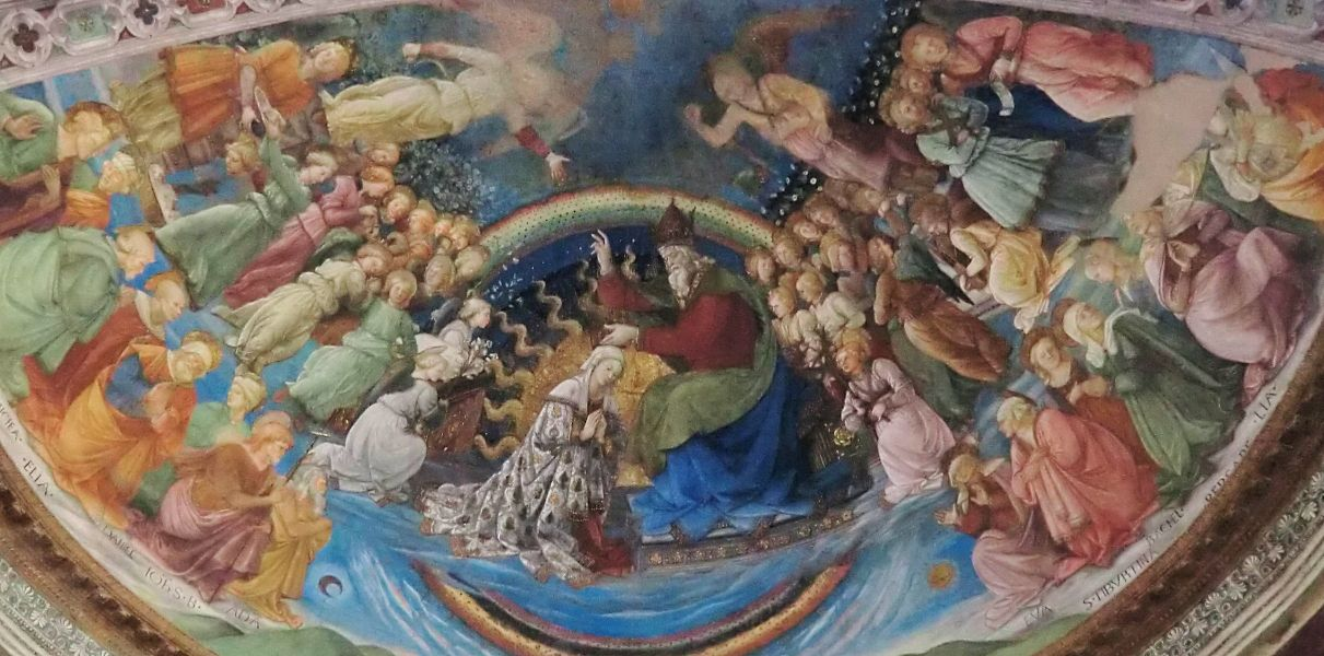 Filippo Lippi, um 1467, im Dom in Spoleto