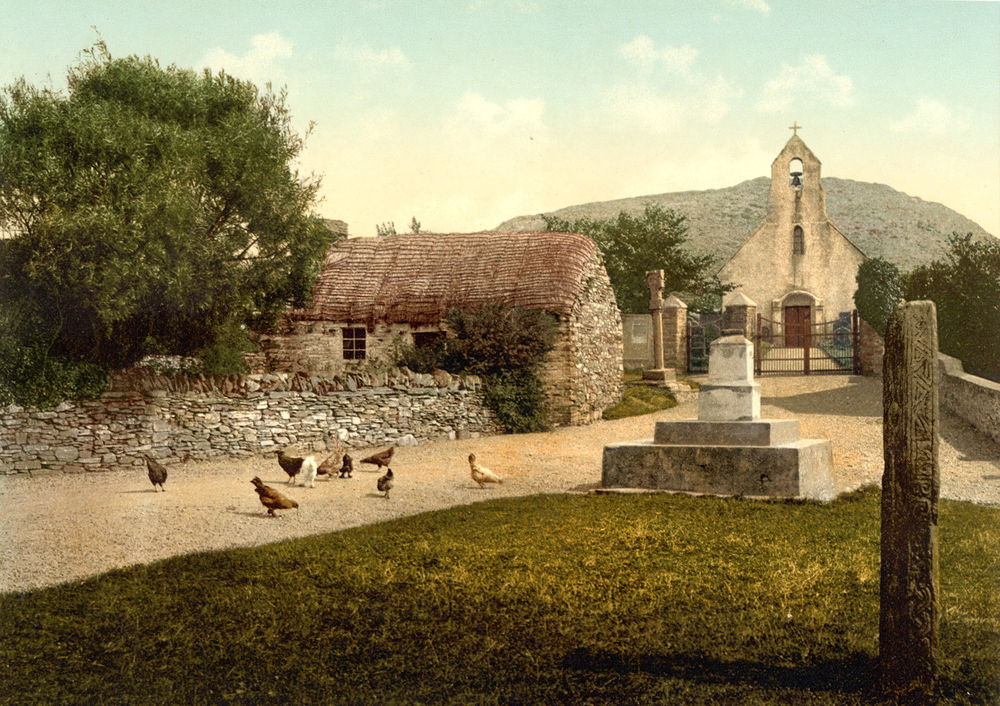 Kirche in Maughold um 1900