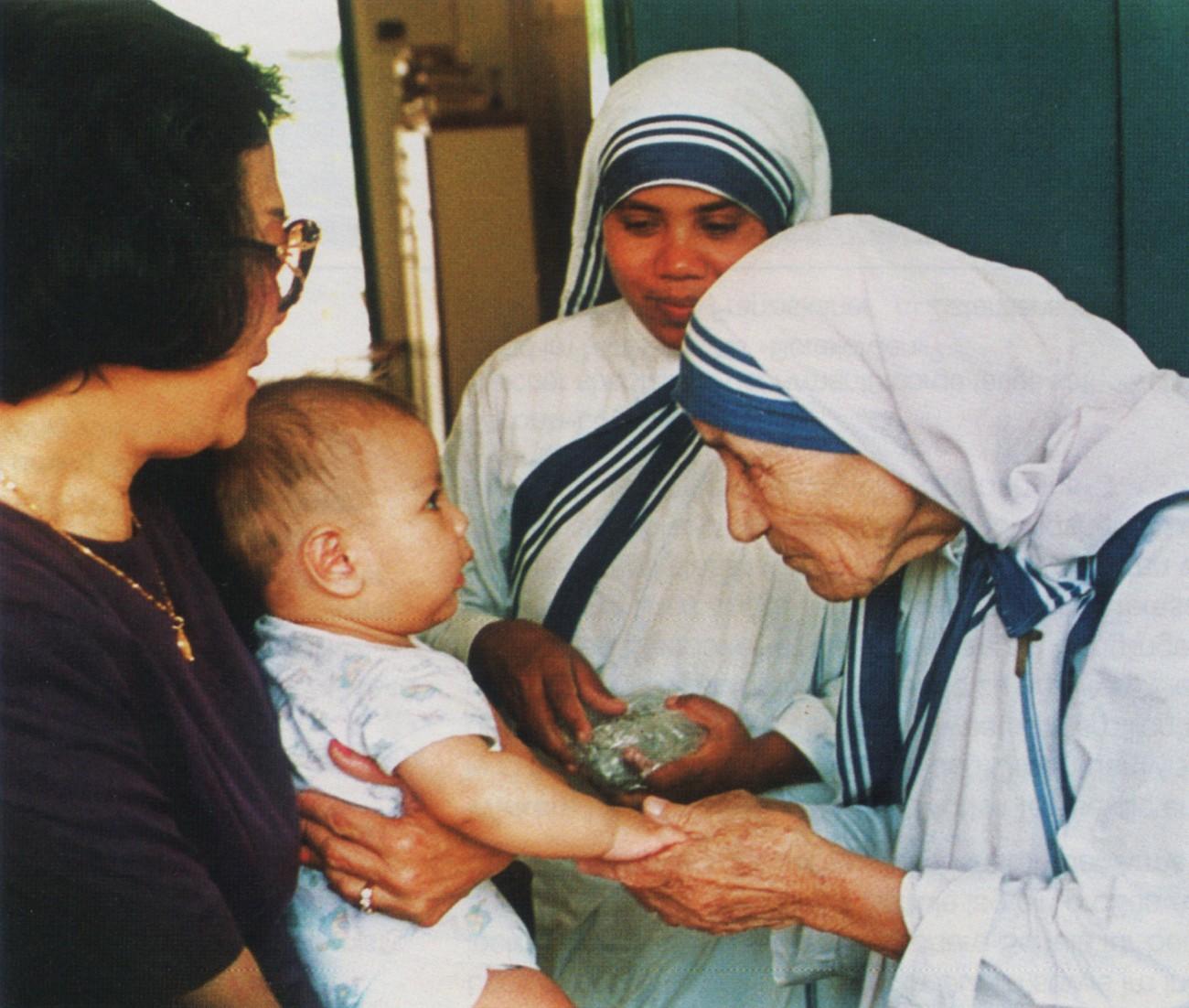 Mutter Teresa Nobelpreis