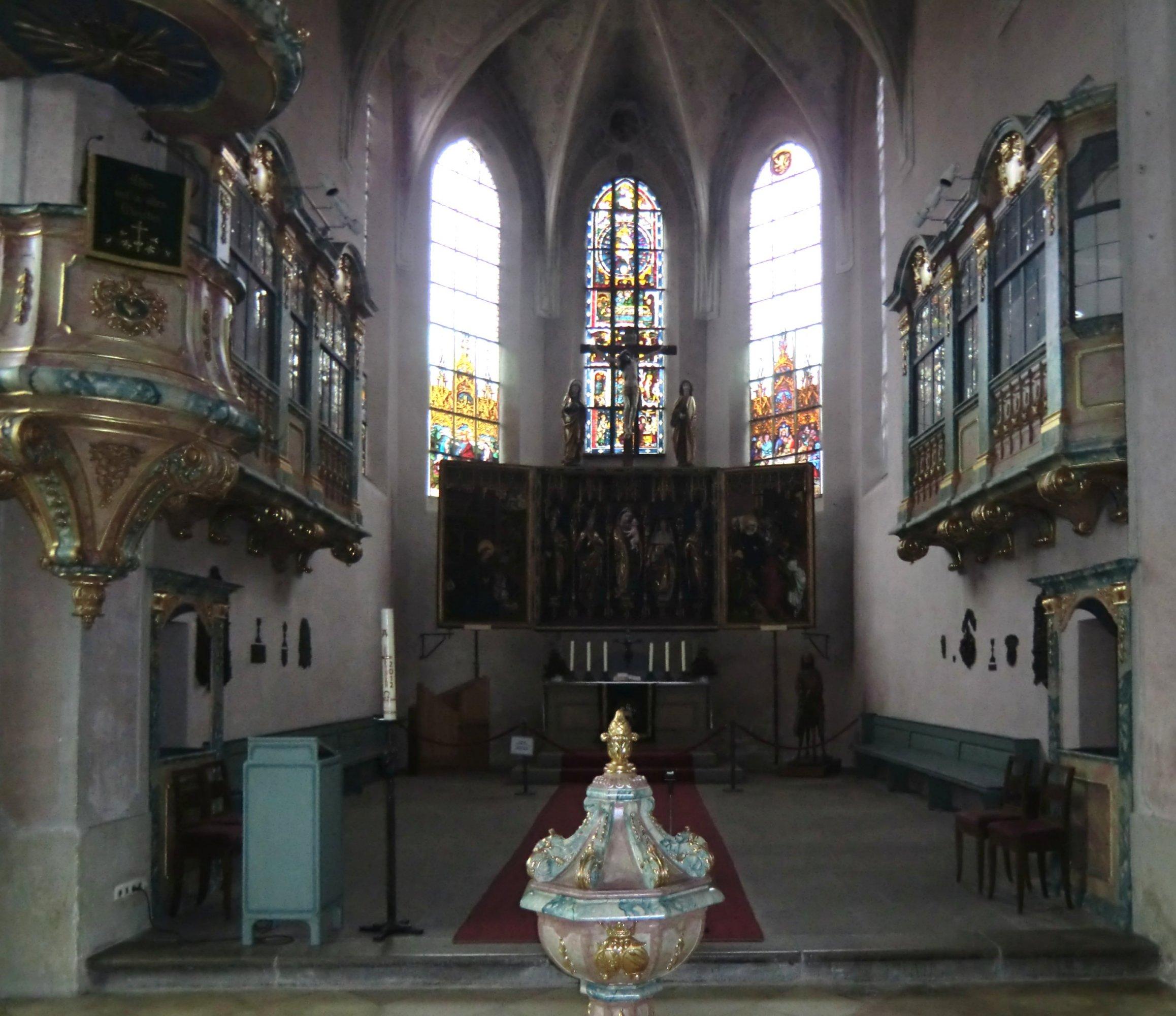 Evang Lutherische Kirche Langenzenn: Ökumenisches Heiligenlexikon