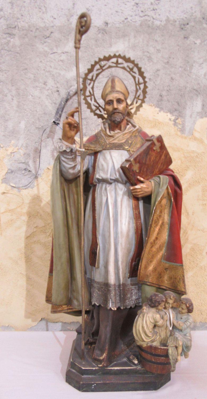 Statue in der Kirche Maria de los Remedios in Ceuta