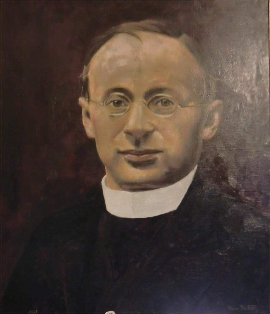 Ölbild von Lois Irsara in der <b>Otto Neururer</b> gewidmeten Kapelle in der Kirche <b>...</b> - Otto_Neururer11