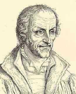 Lucas Cranach der Jüngere: Philipp Melanchthon auf dem Totenbett, am Tag nach seinem Tod aufgenommen, 1560