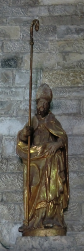 Statue in der Alten Kathedrale in Vaison-la-Romaine