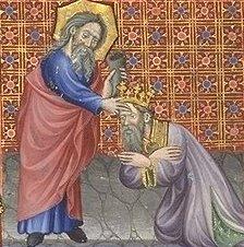 brevier des martin vom aragon david wird von samuel zum knig gesalbt 15 - Knig David Lebenslauf