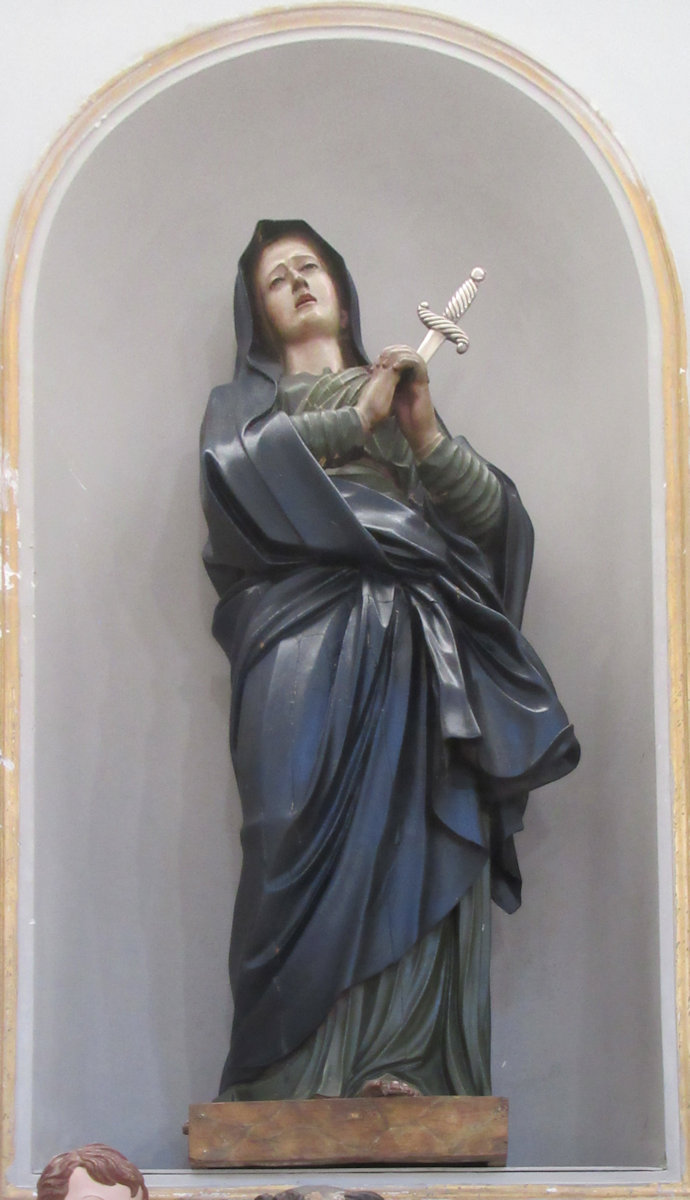 Statue in der Kathedrale in Nicosia