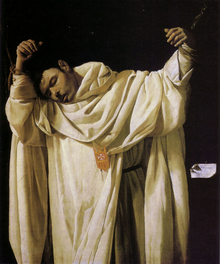 Francisco de Zurbarán: Serapion, 1628 im Wadsworth Atheneum in Hartford in Connecticut in den USA