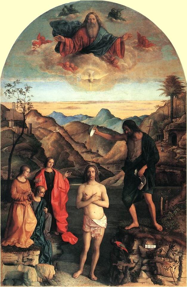 Taufe Christi ökumenisches Heiligenlexikon