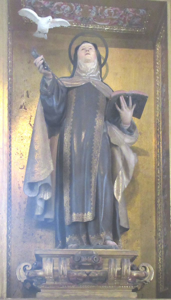 Statue in der Kathedrale in Toledo