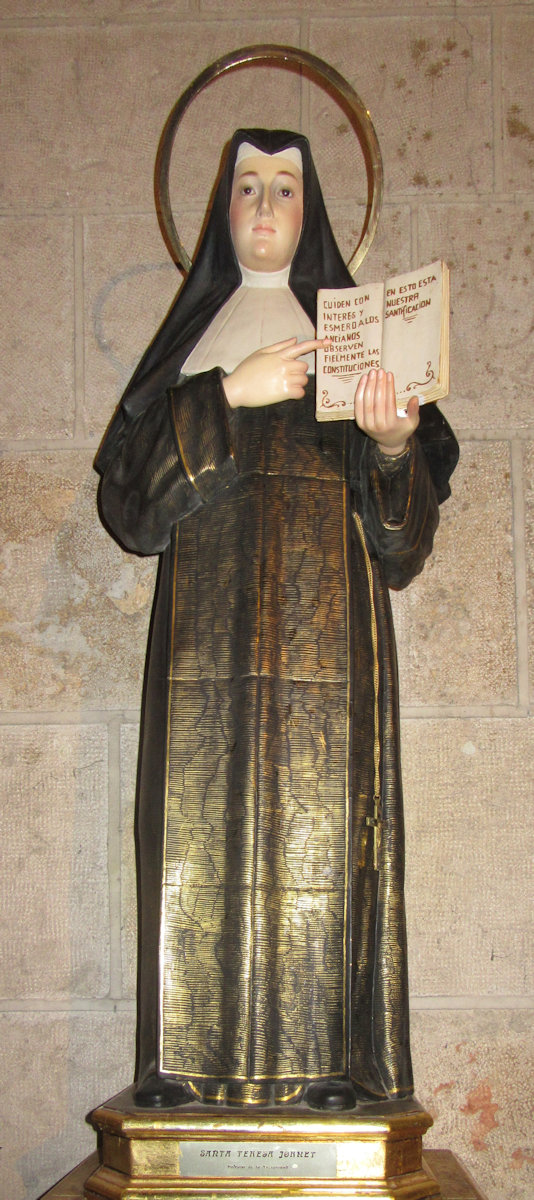 Statue in der Kirche Sta. Catalina in Valencia