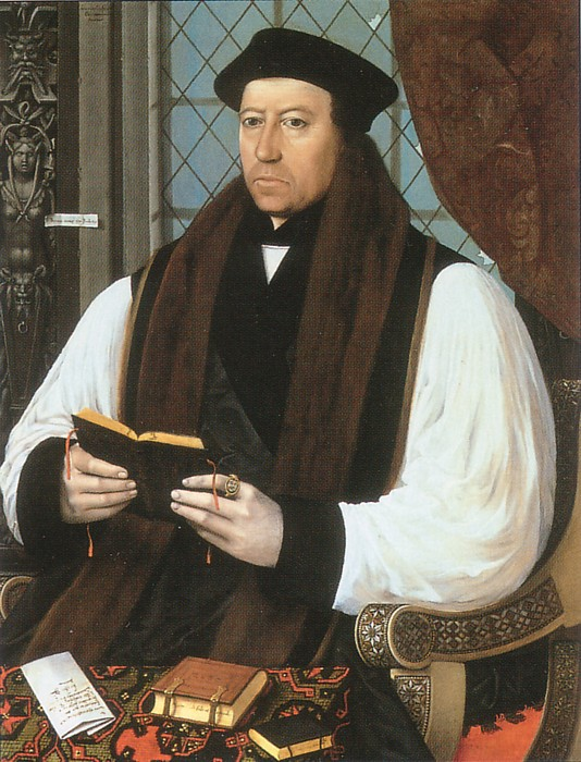 Thomas Cranmer, um 1530, in der National Portrait Gallery in London