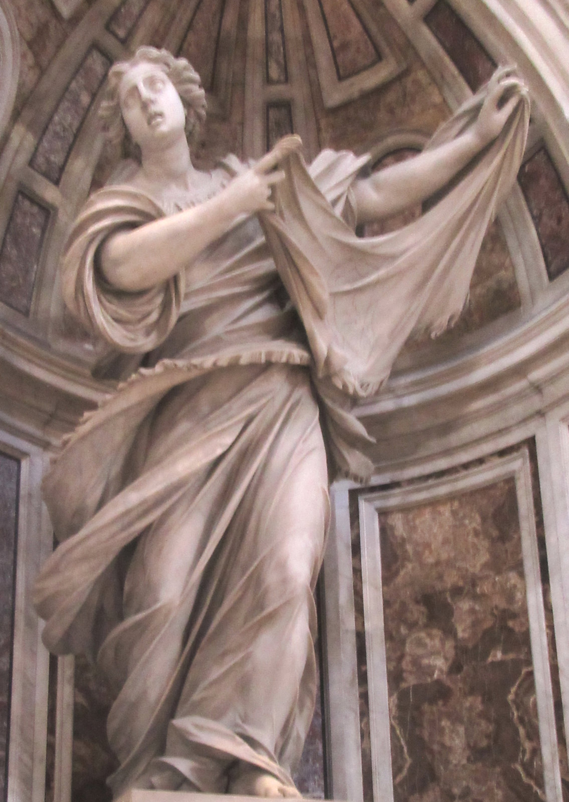 Francesco Mochi: Statue, um 1640, in der, in der Peterskirche in Rom