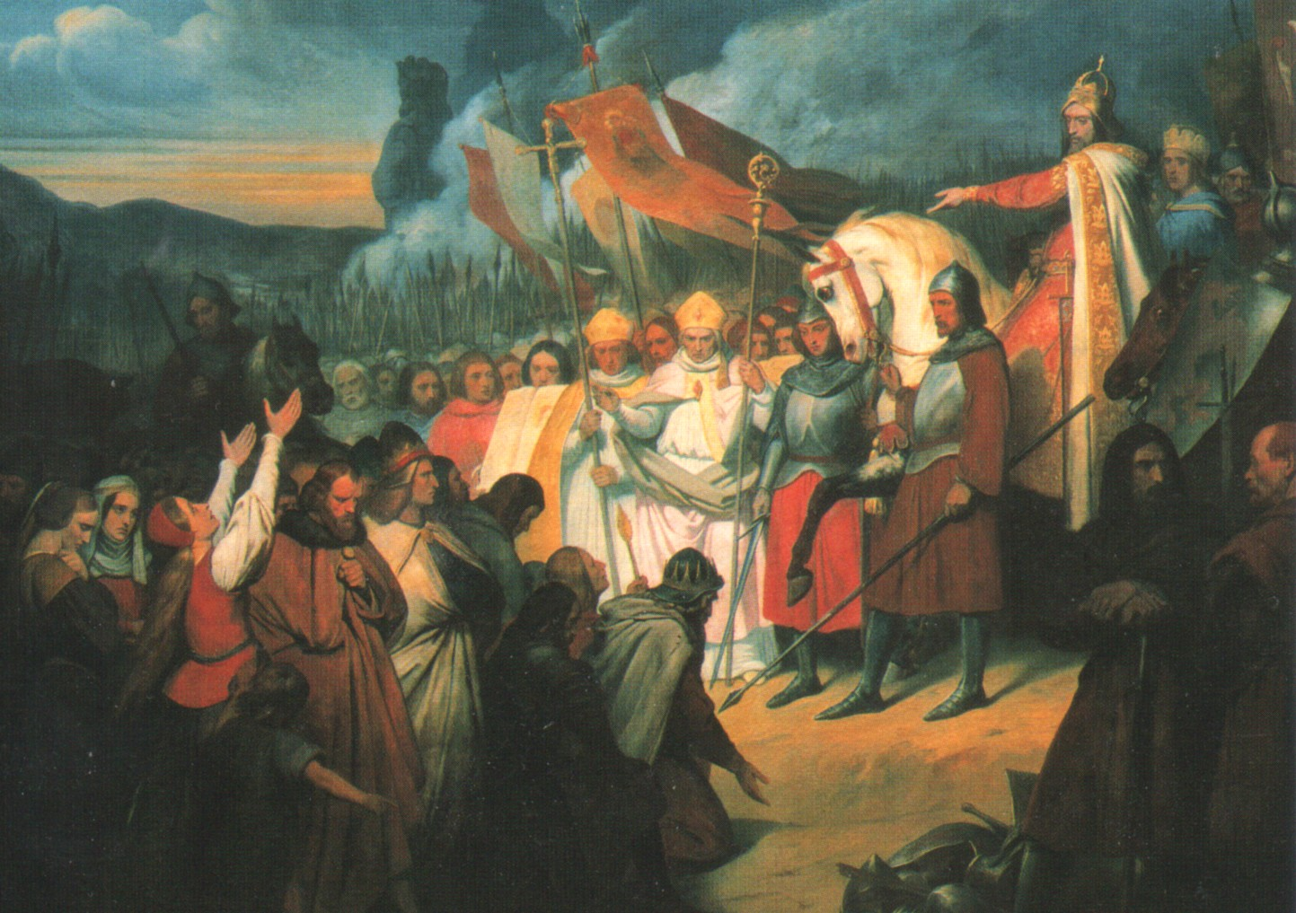 ary scheffer karl der groe nimmt in paderborn widukinds unterwerfung an 1840 galerie - Karl Der Grose Lebenslauf