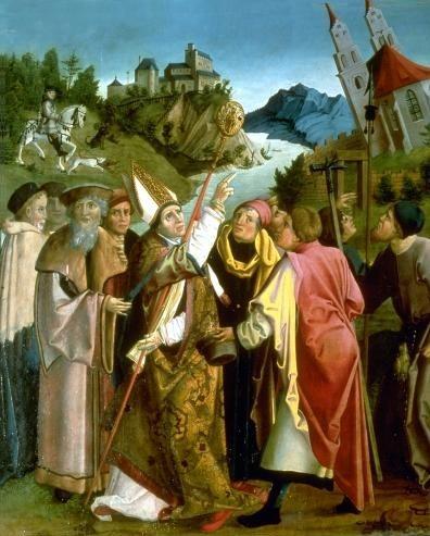 resultado de imagem de santo Wolfgang da estátua de Regensburg