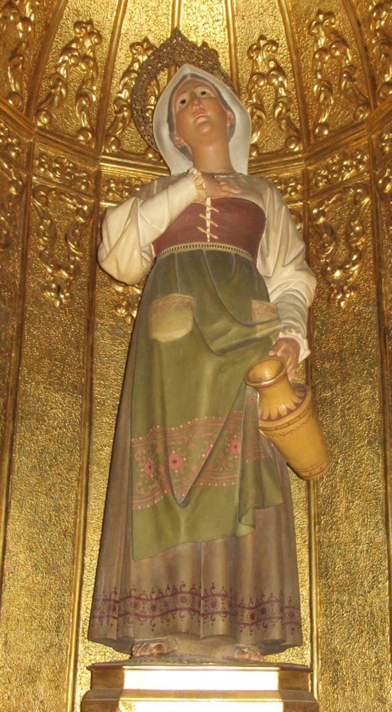 Statue in der Dominikanerkirche in Murcia